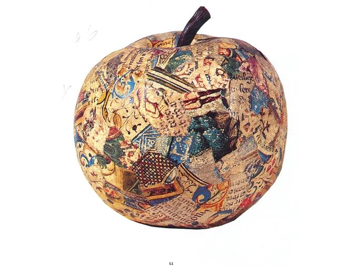 Jiří Kolář, //Apple//, 1960s, collage item