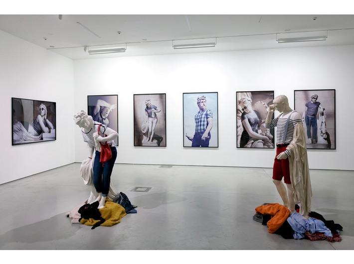 Léo Caillarda, wystawa //Sztuka w sztuce//, fot. R. Sosin