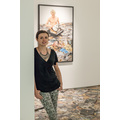 Anna Pyzik przy pracy pracy Marcella Malobertiego //Vir Temporis Acti//, fot. R. Sosin685