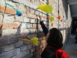 Marzec 2017, Instalacja powstała w ramach warsztatów //Sztuka możliwości// dla uczniów Zespołu Szkół Specjalnych nr 4 w Krakowie, 29.3.2017
