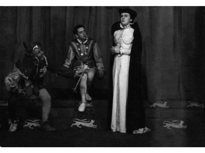 Juliusz Słowacki, //Maria Stuart//, Oflag II C Woldenberg, 1943, courtesy Instytut Teatralny im. Zbigniewa Raszewskiego