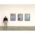 Wystawa //Sztuka w sztuce//, widoczna praca Simona Fujiwary //Studio Pieta (King Kong Komplex)//708