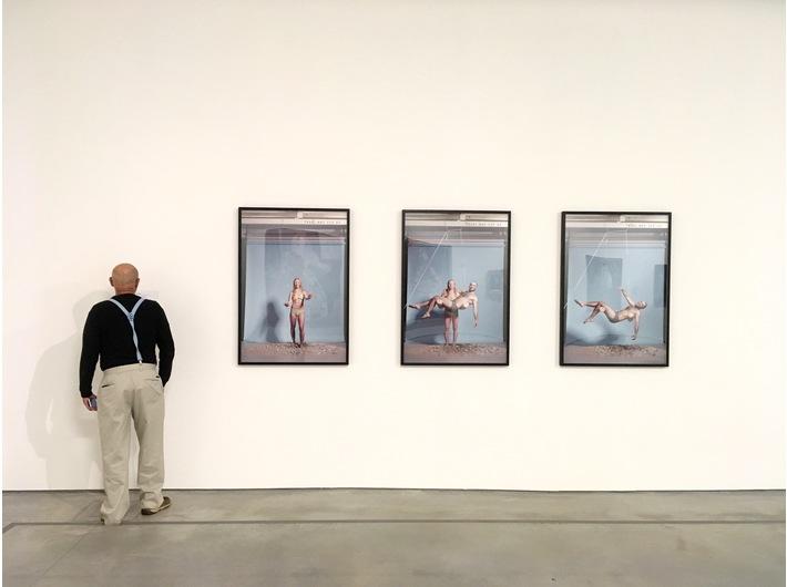 Wystawa //Sztuka w sztuce//, widoczna praca Simona Fujiwary //Studio Pieta (King Kong Komplex)//