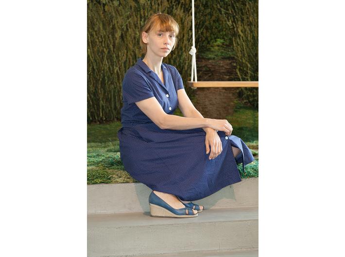 Maria Prawelska przy pracy //Azyl wspomnienia 2// Alexandra Kehayoglou