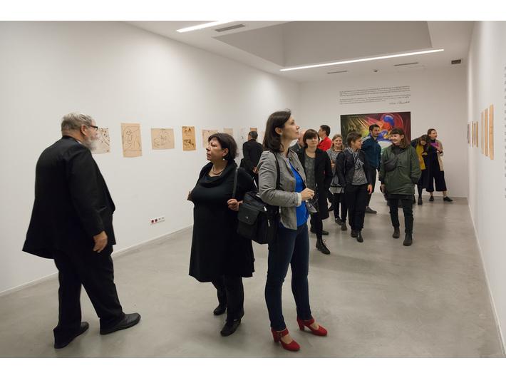"""Wystawa Leona Chwistka """"Nowe kierunki w sztuce"""", Muzeum Sztuki Współczesnej w Krakowie MOCAK, fot. Rafał Sosin"""