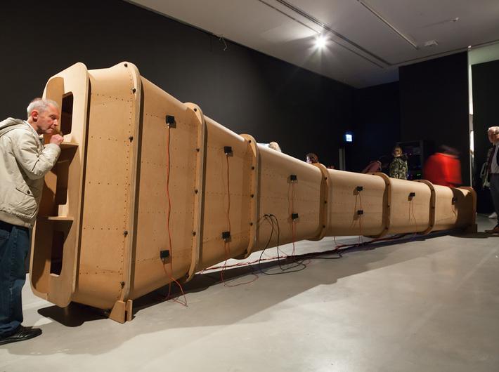 """Wystawa """"Nonsensowne technologie"""", Muzeum Sztuki Współczesnej w Krakowie MOCAK, fot. Rafał Sosin"""