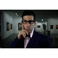 Shahar Marcus, //The Curator//, 2011, video, The MOCAK Collection595