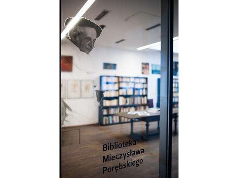 Biblioteka Mieczysława Porębskiego w MOCAK-u, fot. M. Świdziński