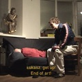 Azorro, //The End of Art//, 2002, video, 2 min 49 s603
