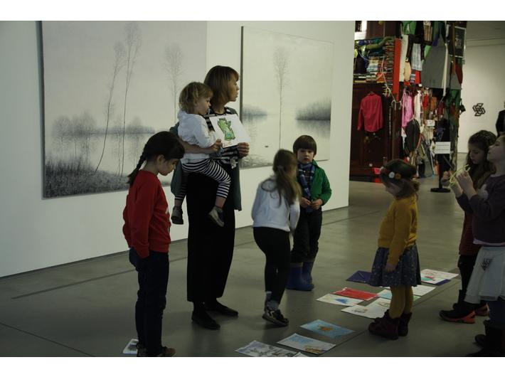 //Zabawy z książką ukraińską//. Warsztaty dla dzieci, 17.2.2018, fot. Dział Edukacji