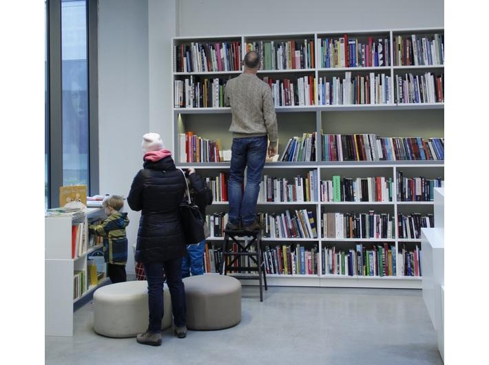 Biblioteka MOCAK u, photo: V. Soloviov
