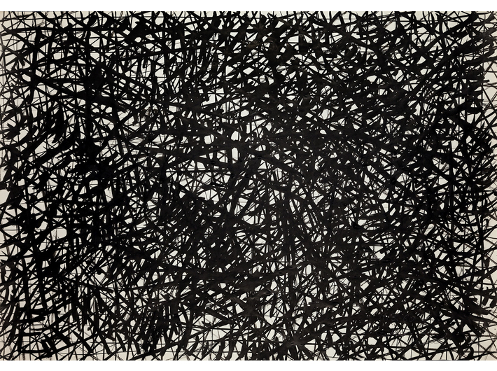 Dietrich Helms, //untitled//, 1960, ink / paper, 61.7 × 87.8 cm, the MOCAK Collection