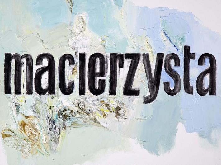 Jadwiga Sawicka, //Motherland//, 2012, oil, acrylic / canvas, 50 × 60 cm, the MOCAK Collection, photo: R. Sosin