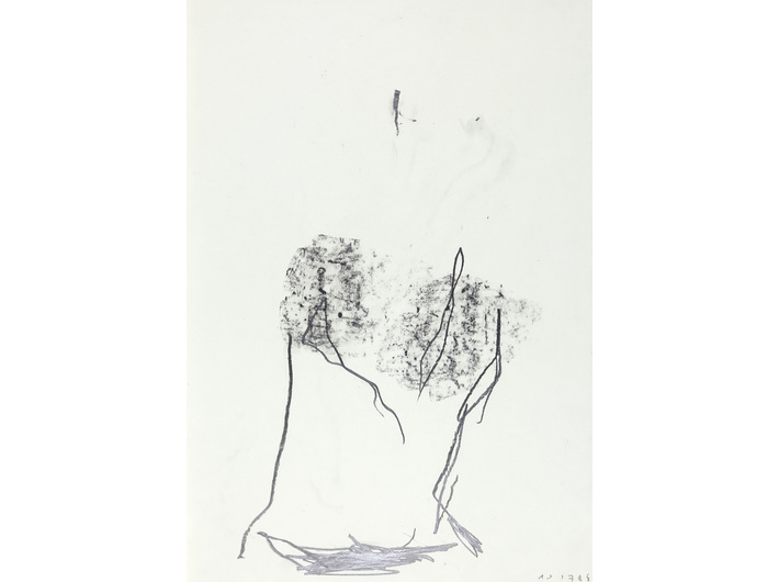 Dietrich Helms, //untitled//, 1978, graphite / paper, 61 × 43 cm, the MOCAK Collection