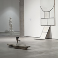 Kolekcja MOCAK-u, od prawej prace: Marii Stangret, Sofie Muller, Pawła Althamera, fot. R. Sosin790