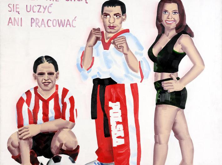Marcin Maciejowski, Młodzi nie chcą się uczyć ani pracować, 2000, FUNDACJA SZTUKI POLSKIEJ ING