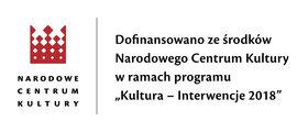 Narodowe Centrum Kultury Interwencje 20181