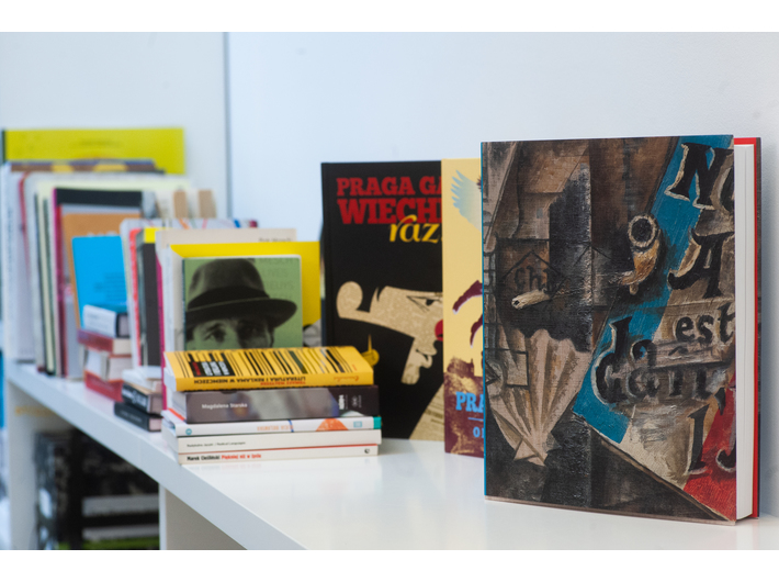 New book releases available at the Library, photo: M. Świdziński