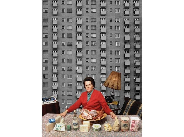 Alicja Biała, //Flour//, collage, 2018, 41 × 29 cm, courtesy of A. Biała, photo: A. Biała