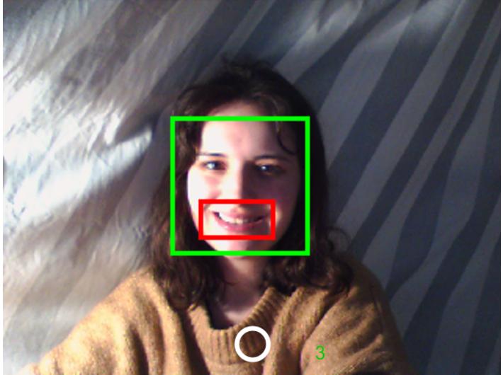 Julia Czarnecka, //Smile Detector//, 2017, aplikacja, courtesy J. Czarnecka