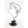 Krzysztof M. Bednarski, //Projekt nagrody Wisławy Szymborskiej (dla fundacji jej imienia)//, rzeźba, 44 × 25 × 20 cm, Kolekcja MOCAK-u874