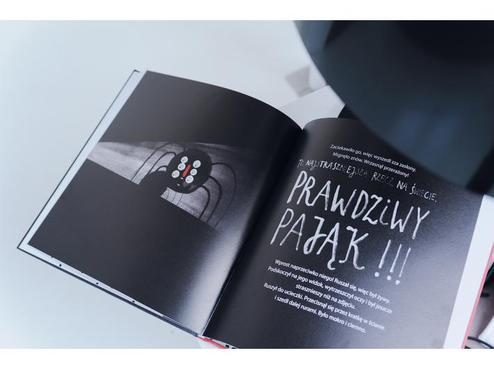 //Czego tu się bać?//, aut. Madlena Szeliga, il. Paulina Daniluk, Wydawnictwo Gereon, fot. L. Radyk