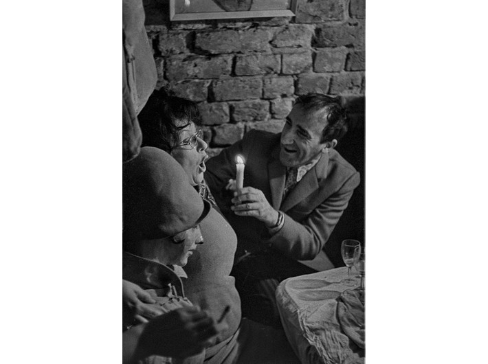 Jadwiga Maziarska i Tadeusz Kantor, 11 XI 1968, fot. Jacek Maria Stokłosa