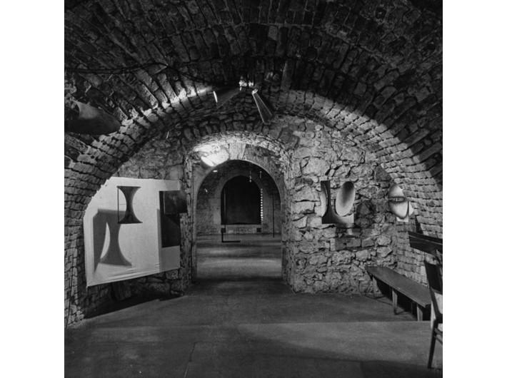 Wystawa Edwarda Krasińskiego w Galerii Krzysztofory, 30 X – 16 XI 1965, fot. Jacek Maria Stokłosa
