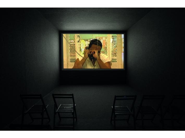 Lars Laumann, //Zamknij się, dzieciaku, to nie bingo//, 2009, film, 58 min, Kolekcja MOCAK-u