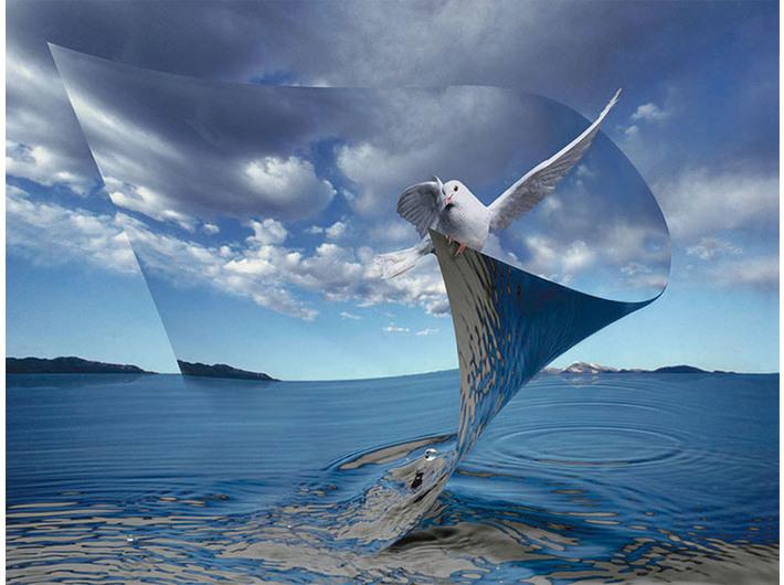 Ryszard Horowitz, //Waterscape//, fotografia cyfrowa, 2006, courtesy R. Horowitz