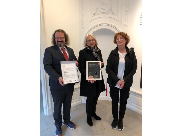 Jürgen Kaumkötter, Milena Karabaic, Maria Anna Potocka,  Instytut Polski w Düsseldorfie, 9.11.2018
