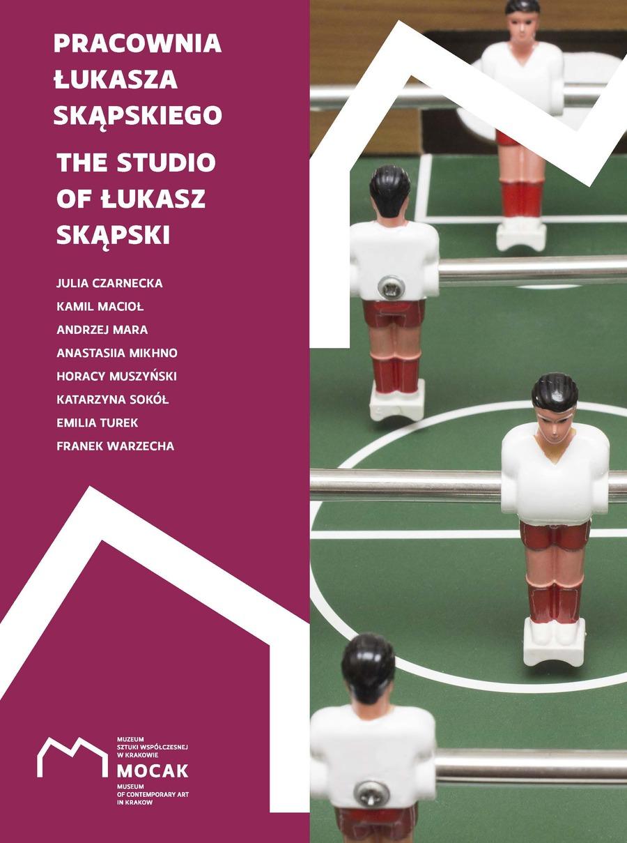 'The Studio of Łukasz Skąpski' exhibition catalogue