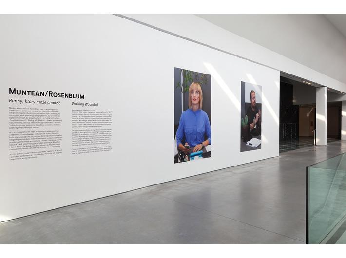 Wystawa //Ranny, który może chodzić//, fot. R. Sosin
