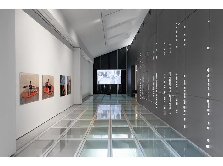 Widok wystawy //Ranny, który może chodzić//, fot. R. Sosin