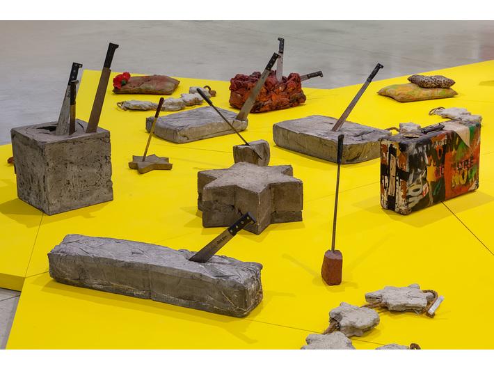 Widok wystawy //Pop-art po Holokauście//, fot. R. Sosin