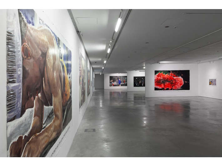 //Walking Wounded// exhibition, photo: Rafał Sosin