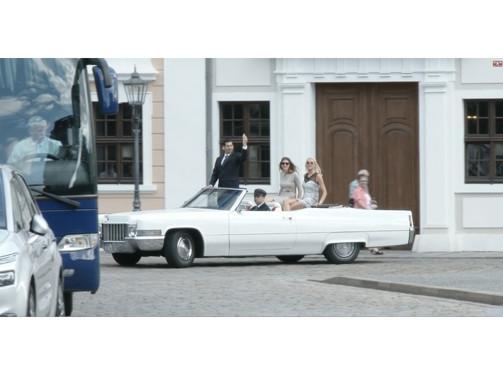 Shahar Marcus, //Homecoming Artist (Dresden)//, 2017, wideo, 4 min 25 s, Kolekcja MOCAK-u