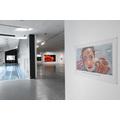 Wystawa //Ranny, który może chodzić//. Po prawej: bez tytułu [Las się rozstępuje...], 2018 olej / płótno, 270 × 430 cm, courtesy Muntean/Rosenblum, Galerie Ron Mandos, Amsterdam, fot. R. Sosin900