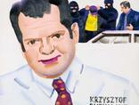 Marcin Maciejowski, //Krzysztof Rutkowski ściga przestępców//, 2001, olej / płótno, Kolekcja MOCAK-u, fot. R. Sosin3