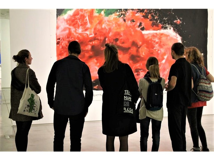 //Art Café//. Open Discussion on Art, 13.10.2018, photo: S. Zarychta