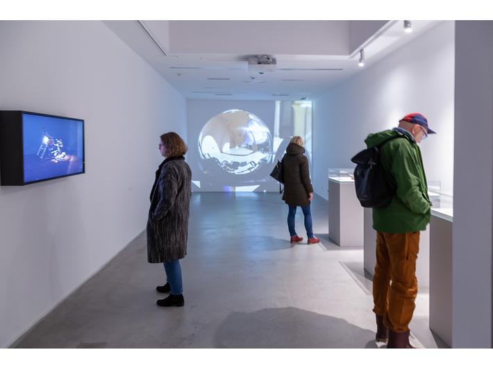 Widok wystawy //Zbrodnia?//, fot. R. Sosin