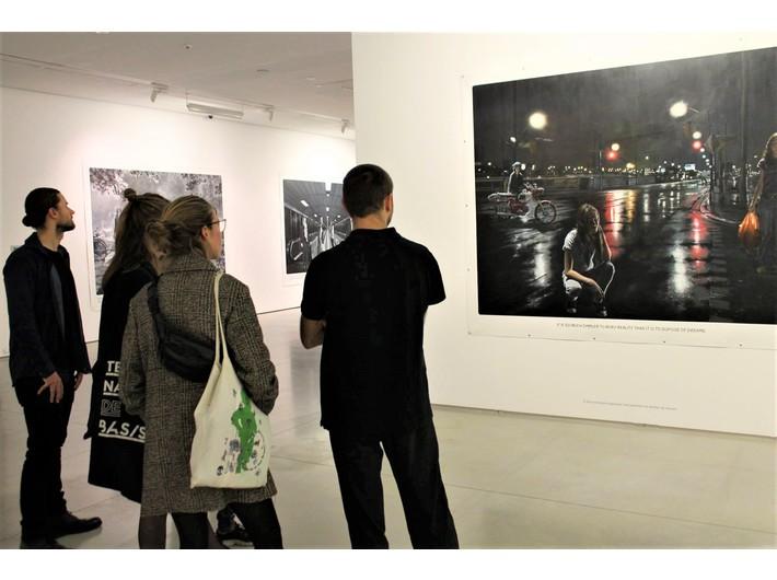 //Art Café//. Otwarta dyskusja o sztuce, 13.10.2018, fot. S. Zarychta