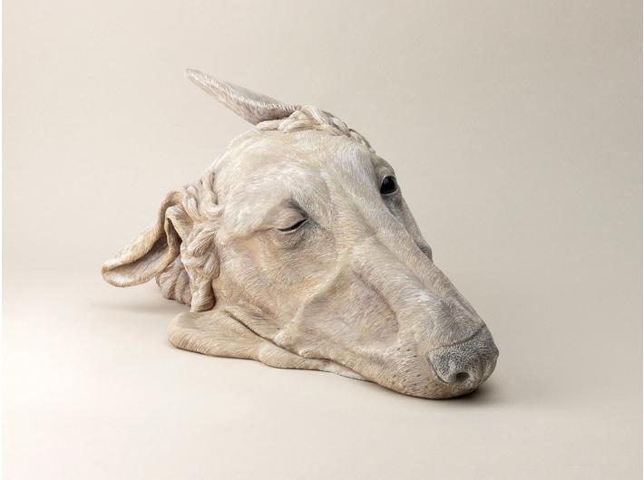 Tomohiro Higashikage, //Shikai: Sight Hound B-002//, 2011, rzeźba, 15 × 42 × 21 cm, Kolekcja MOCAK-u, fot. z archiwum artysty
