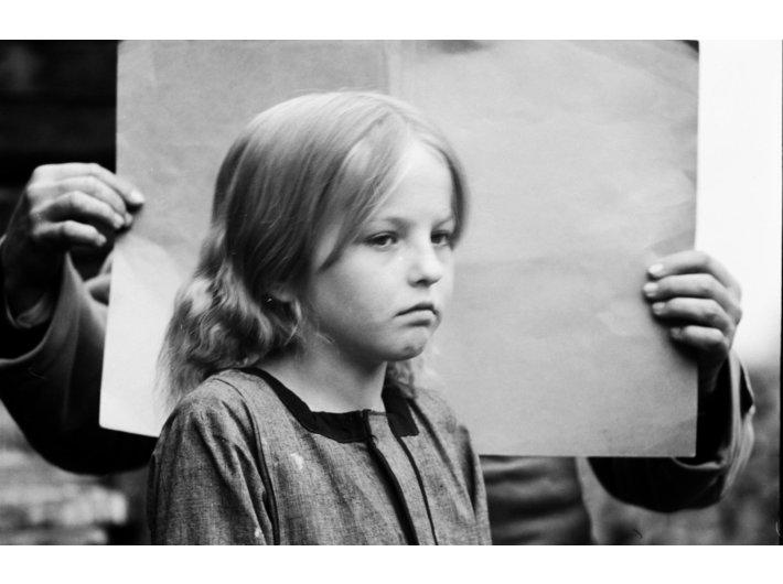 Dziewczynka ze wsi łemkowskiej z okolic Krynicy, 1940, Archiwum Uniwersytetu Jagiellońskiego