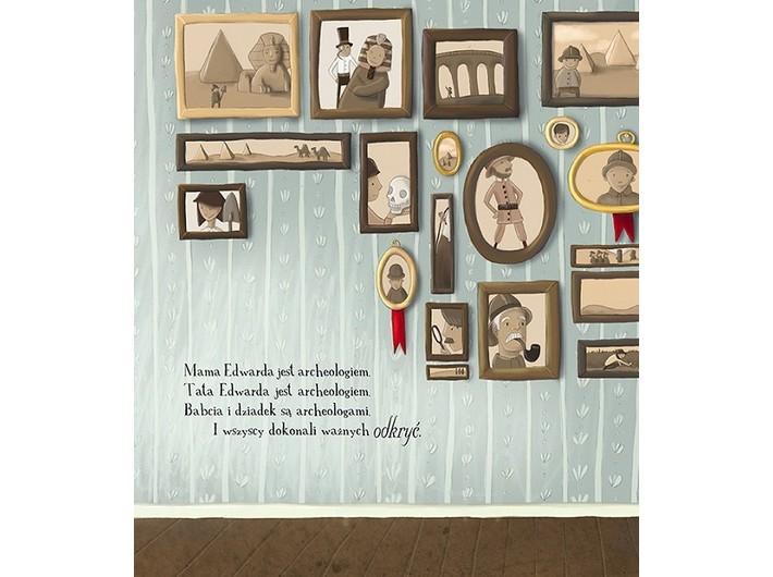 Rebecca McRitchie, //Edward i jego wielkie odkrycie// [Edward and the Great Discovery] illustrated by Celeste Hulme, Wydawnictwo Adamada, Gdańsk 2014