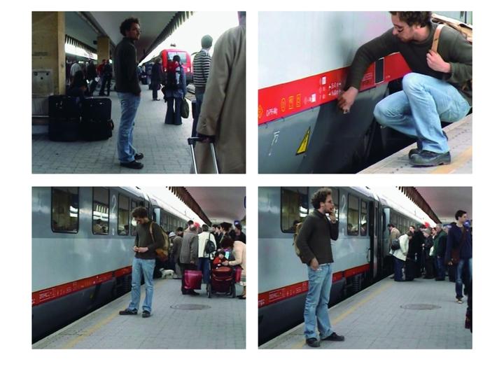 Leopold Kessler, //Import Budapeszt – Wiedeń//, 2006, wideo, 15 min 40 s