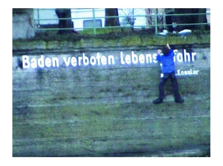 Leopold Kessler, //Renovated//, 2003, video, 2 min 37 s