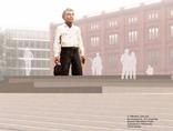 S. Balkenhol, //Geste der Bescheidenheit//, 2010, materiały prasowe Federalnego Urzędu Budownictwa i Planowania Przestrzennego1