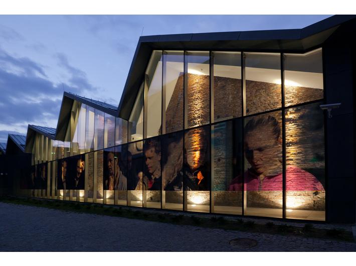 MOCAK Building, photo:  R. Sosin. Beat Streuli's work //Krakow, October 2005//, 2006