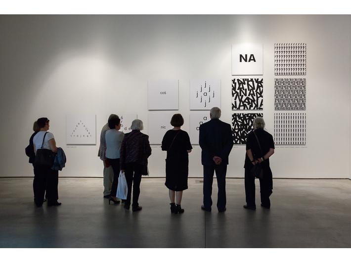 Stanisław Dróżdż exhibition //Concept-Shapes//, photo: R. Sosin